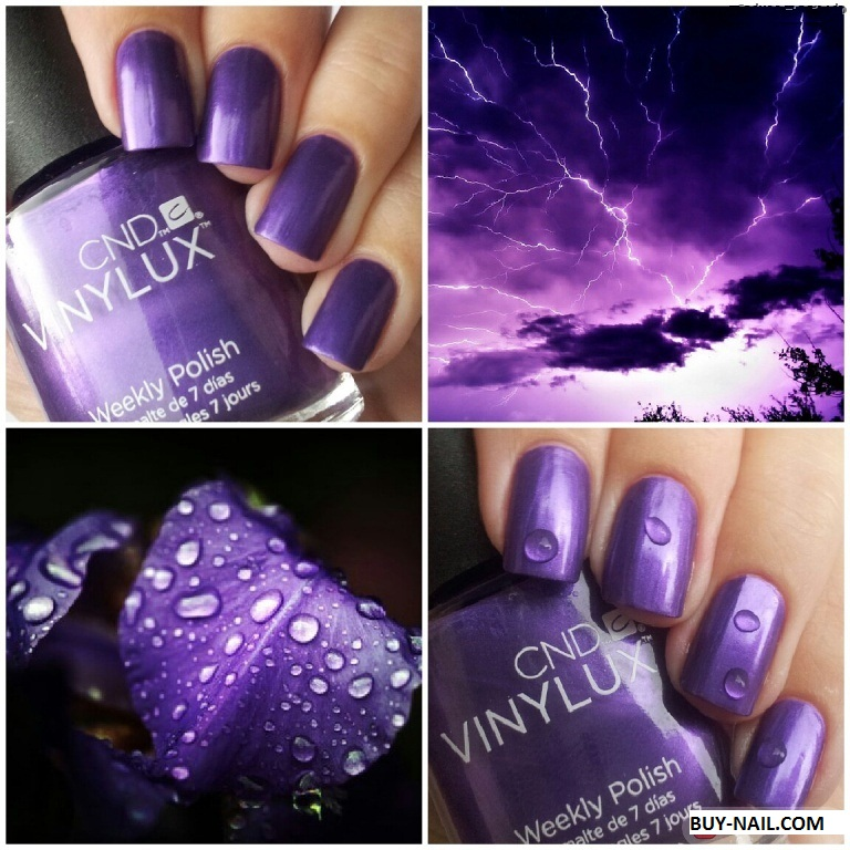 Купить CND VINYLUX Grape Gum