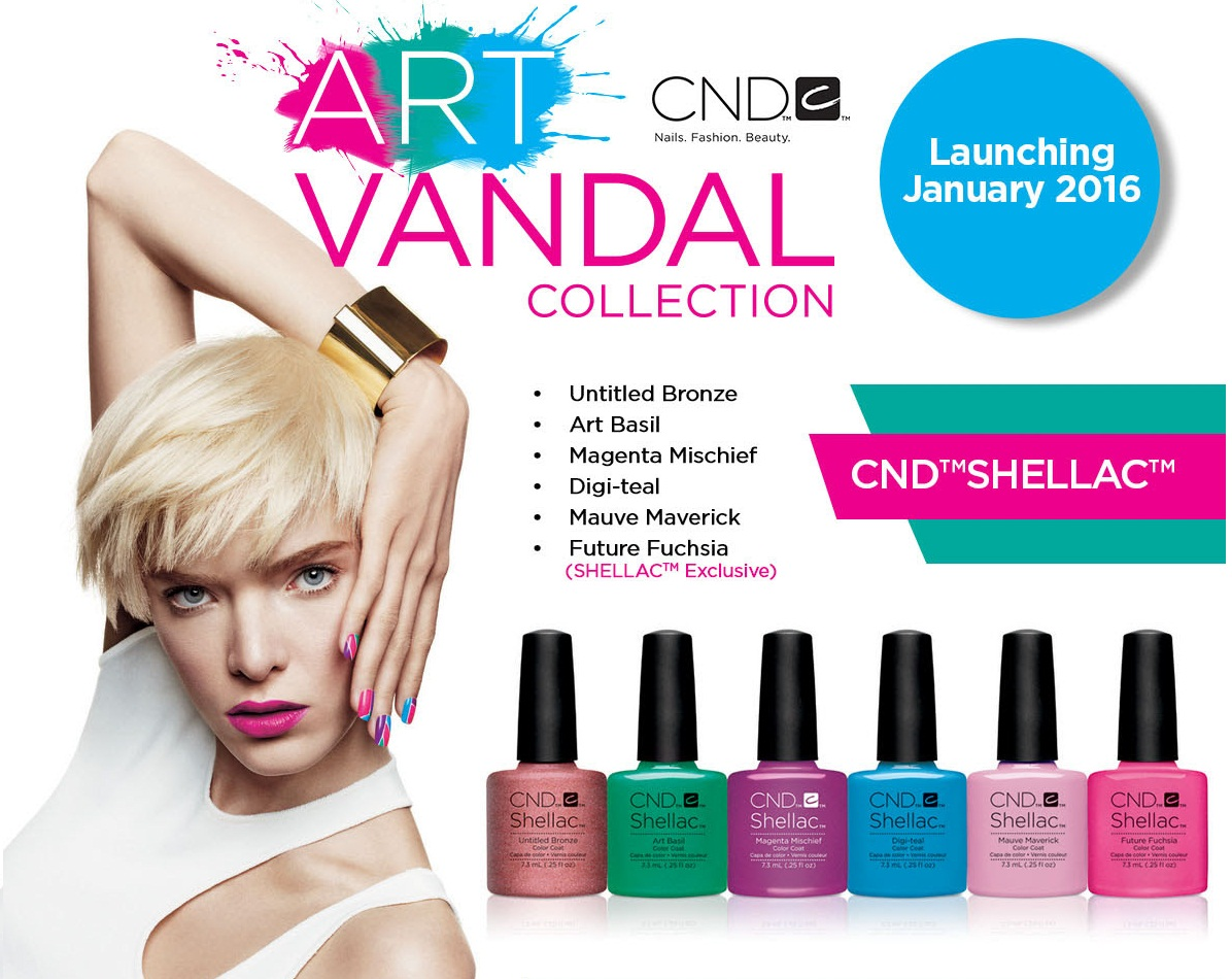 shellac cnd art vandal купить
