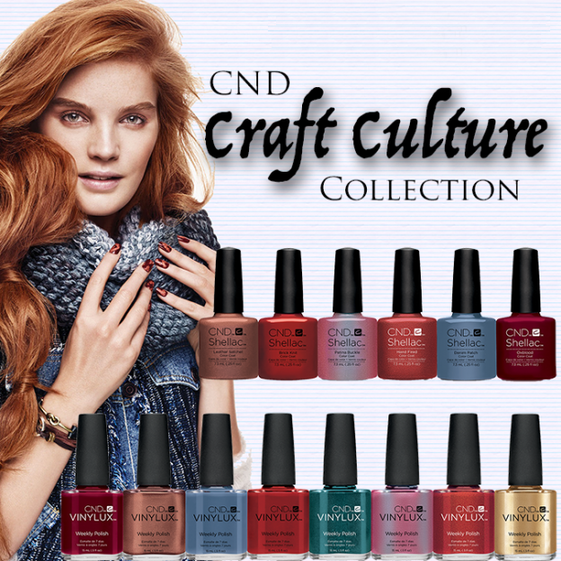 Shellac CND Craft Culture купить