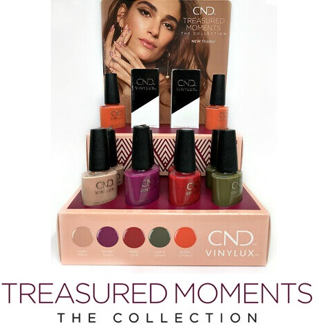 shellac cnd treasured moment